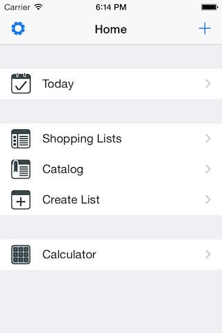 YA Shopping List